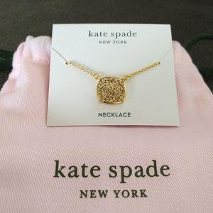 Kate Spade♠️ Square Pave💎Set Necklace